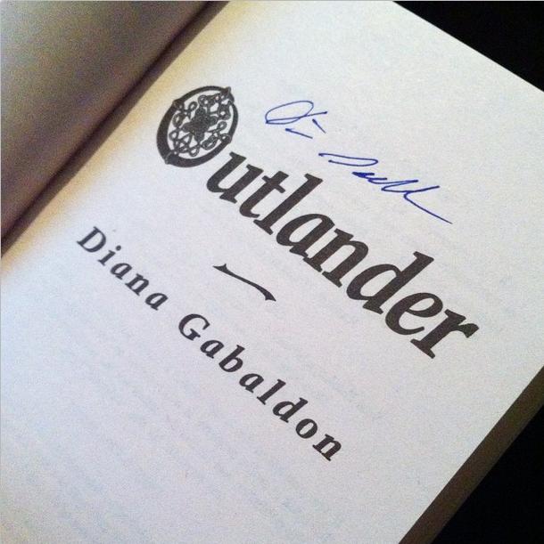 Outlander. Signed.