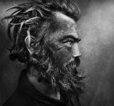 Lee Jeffries. Homeless. Untitled.